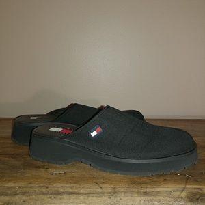 Vintage 90's Tommy Hilfiger Platform Mules/Slides